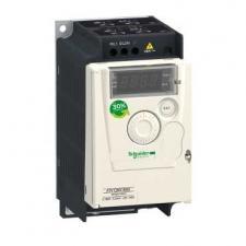 0,75 кВт, 240 В 1 фаза, Преобразователь частоты ATV12