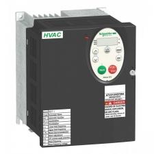 4 кВт, 380-480 В 3 фазы, Преобразователь частоты ATV212